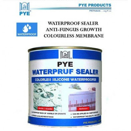 PYE Waterpruf Sealer BATHROOM  WATERPROOF SEALER COLOURLESS ANTI LEAK