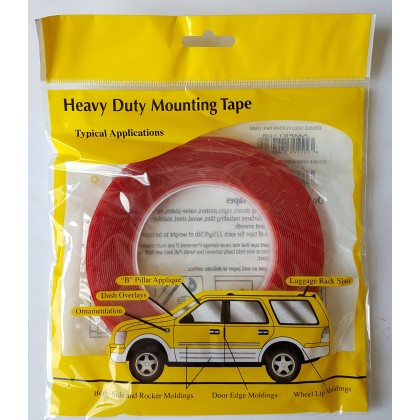 Heavy Duty Double Side Tape Car Tape Stick Car Plate Remote Control