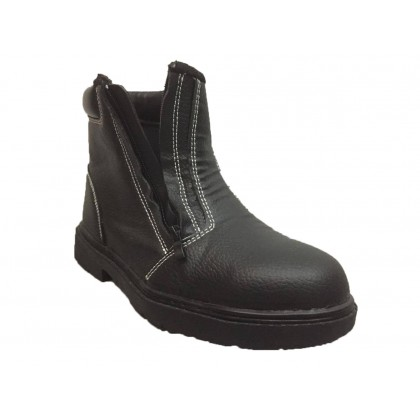 Safety Shoe OW178 Zip Model (Steel Toe Cap & Steel Plate)