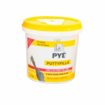PYE Putty Filler 0.5kg Ready Mix Repair Crack Wall Outdoor & Indoor