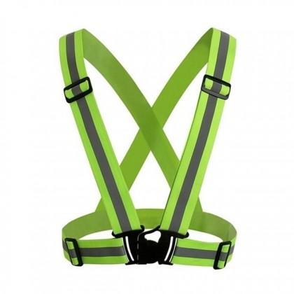 360 Degrees High Visibility Vest Harness Reflective Belt Safety Jacket
