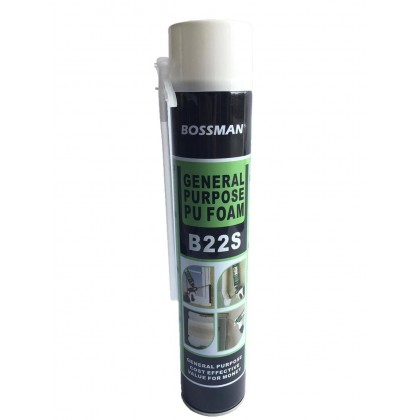 750ML B22-S BOSSMAN PU FOAM (Filler)