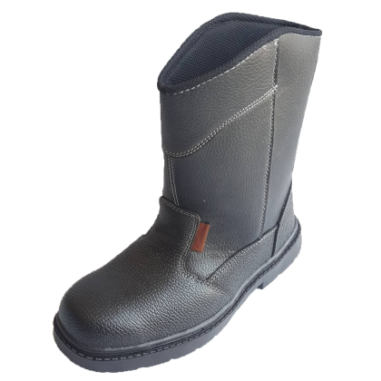 High Cut Safety Shoe (Steel Toe Cap & Steel Plate)