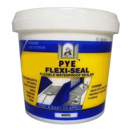 Waterproof Sealer PYE Flexi-Seal 1kg (Water Base)