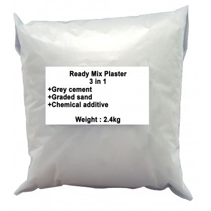 Plaster Ready Mix 3in1 2.4kg